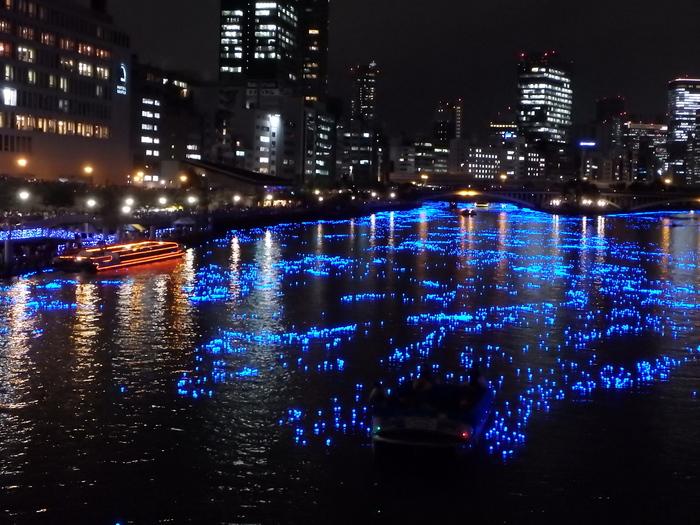 青く光る天の川 平成OSAKA天の川伝説2015 _f0209122_1741462.jpg