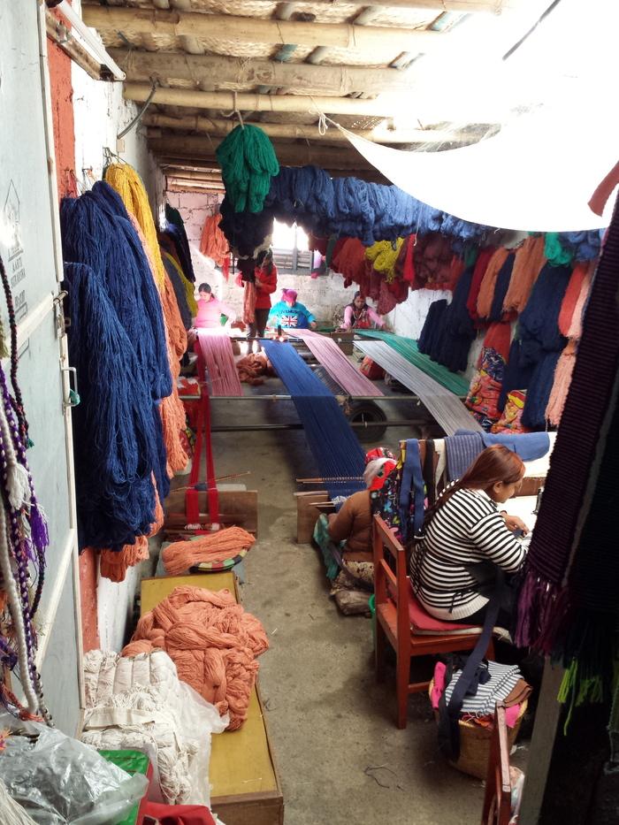 ネパールの織物工房見学_e0155231_14113932.jpg