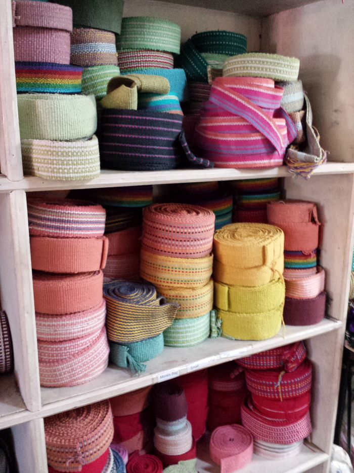ネパールの織物工房見学_e0155231_1418916.jpg