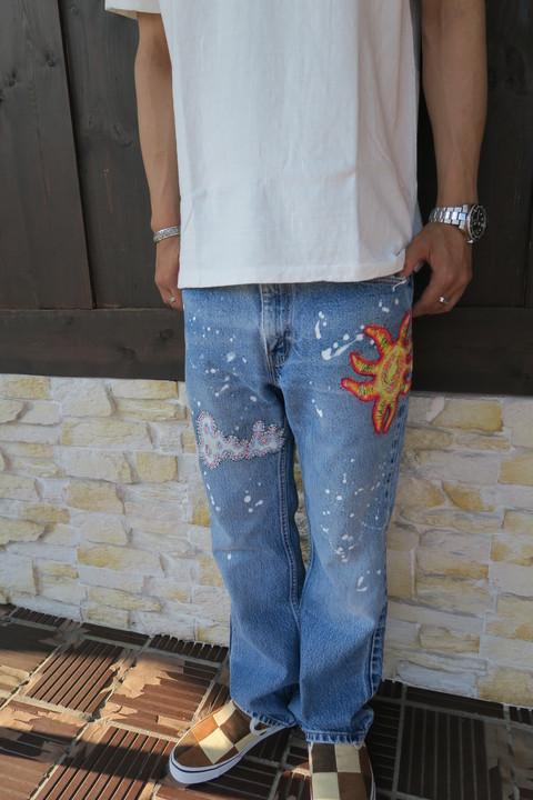 """【NASNGWAM】""""COMMUNE PANTS""""スタイルサンプル!_e0169535_19115722.jpg"""