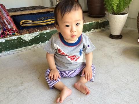 Champion kid\'s : 切替配色 半袖 Tee_a0234452_20302163.jpg