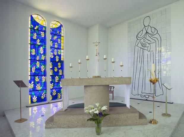 フランス周遊の旅 3  ヴァンス ロザリオ礼拝堂 _a0092659_22531747.jpg