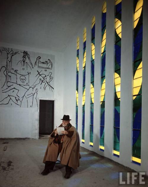 フランス周遊の旅 3  ヴァンス ロザリオ礼拝堂 _a0092659_22535096.jpg