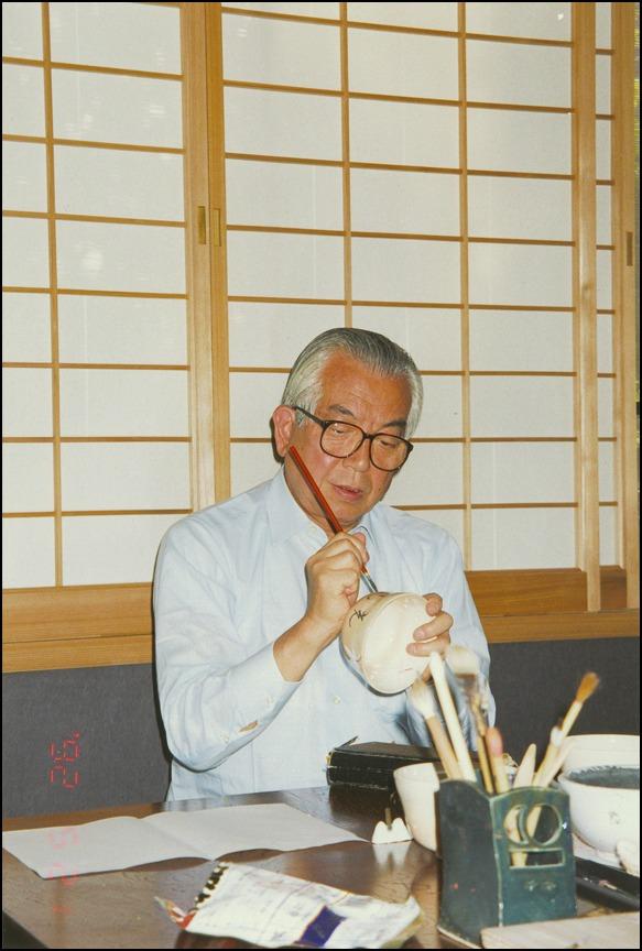 祇園祭の後祭りの日に、久田宗匠、志村ふくみ先生との京都の思い出に酔っています_a0031363_1101992.jpg