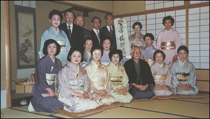 祇園祭の後祭りの日に、久田宗匠、志村ふくみ先生との京都の思い出に酔っています_a0031363_17564853.jpg