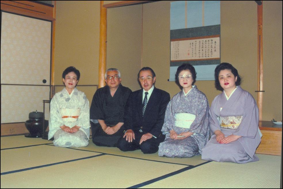 祇園祭の後祭りの日に、久田宗匠、志村ふくみ先生との京都の思い出に酔っています_a0031363_18141.jpg