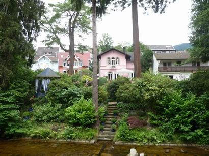 「ブラームスの家」 バーデン・バーデンにて_a0280569_5572922.jpg