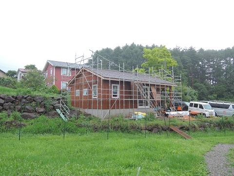 高根町K本さん邸の現場より 20_a0211886_22133594.jpg