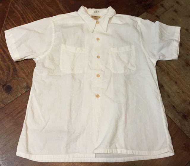 7/11(土)入荷!40s all cotton white shirts!!_c0144020_14345690.jpg