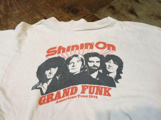 7/11(土)入荷!1974年 GRAND FUNK ツアーTシャツ!_c0144020_14372782.jpg