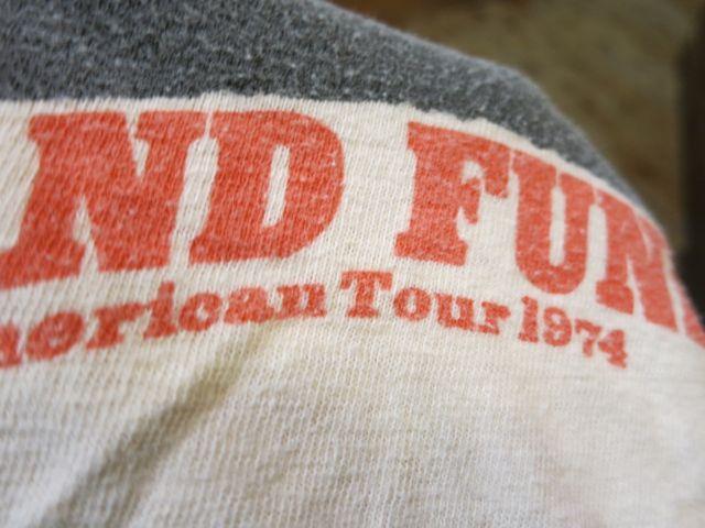 7/11(土)入荷!1974年 GRAND FUNK ツアーTシャツ!_c0144020_14373687.jpg