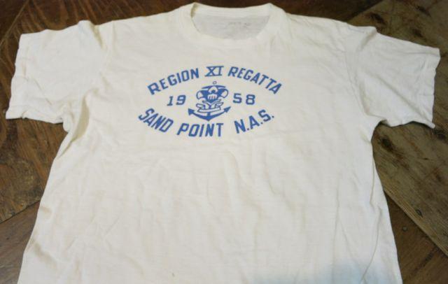 7/11(土)入荷!1958年 U.S NAVAL AIR  STATION ミリタリーTシャツ!染込みプリント!_c0144020_15272493.jpg
