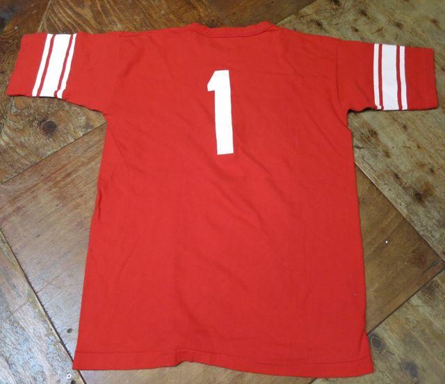 7/11(土)入荷!70\'S champion バータグ フットボールTシャツ!1桁!_c0144020_153354.jpg