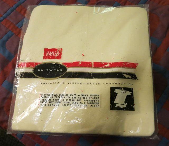7/11(土)入荷!デッドストック!60\'S~HANES パックTシャツ!_c0144020_15595872.jpg