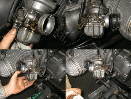 BMW R75/6 軽整備とタイヤ交換_e0218639_13131548.jpg