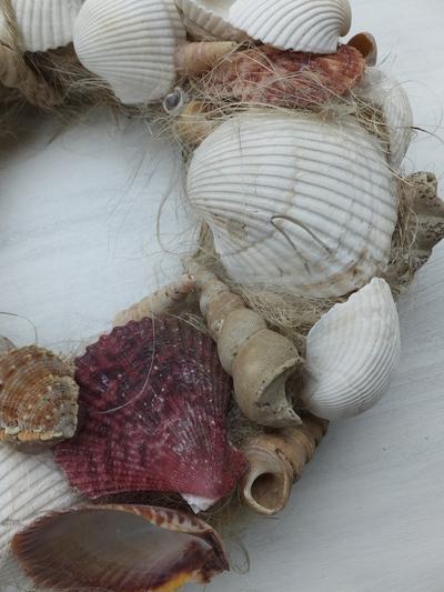 オークリーフ(貝殻のリース)_f0049672_120214.jpg