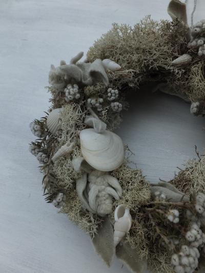 オークリーフ(貝殻のリース)_f0049672_122567.jpg