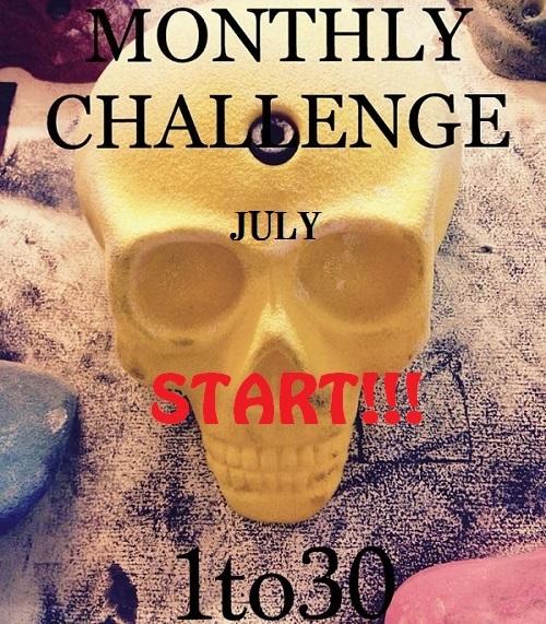 MONTHLY CHALLENGE 更新_d0246875_16284495.jpg