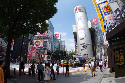 7月10日(金)今日の渋谷109前交差点_b0056983_11441995.jpg