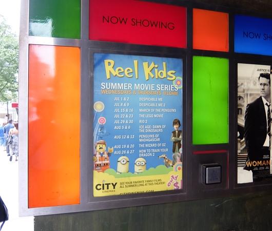 NYで映画見るなら住宅街の映画館へ!! 赤ちゃん連れも大歓迎、たった1ドルで見れる夏休み企画も!!_b0007805_3115978.jpg