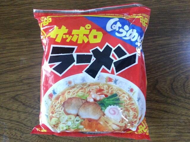7/11  麺のスナシオ サッポロラーメンしょうゆ味¥36_b0042308_16193182.jpg
