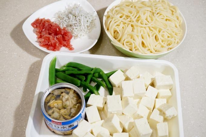 おじいちゃん おばあちゃんも皆で楽しめる 浅蜊缶と豆腐のパスタ♪】ヘルシー!優しいお味です♪_b0033423_21215059.jpg