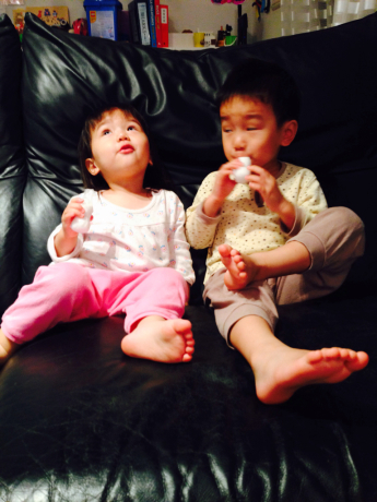 シオン3歳9ヶ月〜ひらがなへの興味が炸裂!_e0253026_07541633.jpg