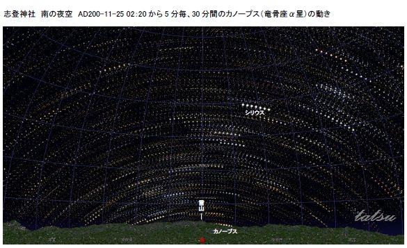 志登神社3・ハレー彗星とカノープス_c0222861_18394270.jpg