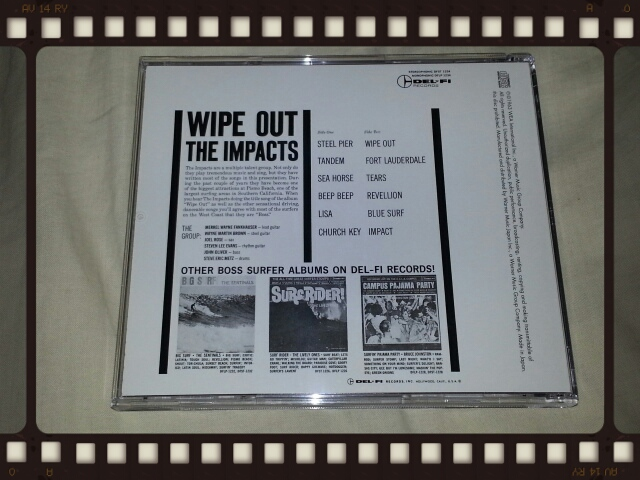 THE IMPACTS / WIPE OUT!_b0042308_1359313.jpg