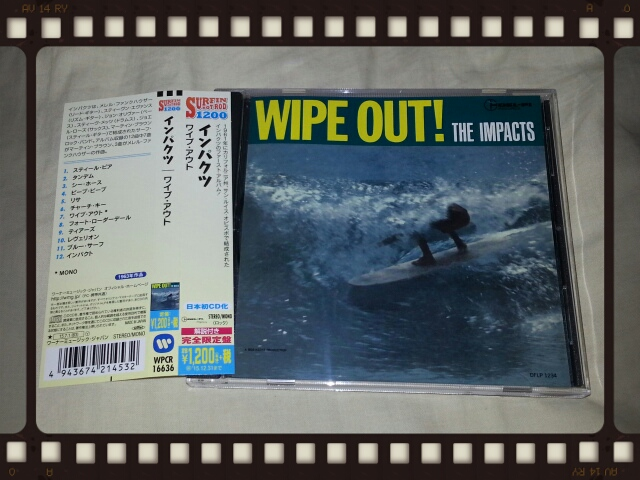 THE IMPACTS / WIPE OUT!_b0042308_13593130.jpg