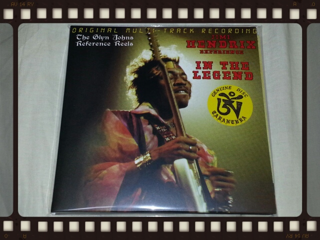 JIMI HENDRIX EXPERIENCE / IN THE LEGEND 2ND EDITION_b0042308_17104385.jpg