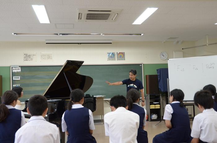 里山森ジャズ と 阿戸中森ジャズ授業の繋がり_a0142828_2315958.jpg