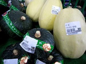 夏の野菜「かぼちゃ」の品ぞろえ_c0141652_17432947.jpg