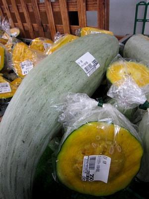 夏の野菜「かぼちゃ」の品ぞろえ_c0141652_17433654.jpg