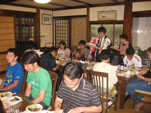 清酒 文佳人を楽しむ夕食会_f0006356_14481145.jpg
