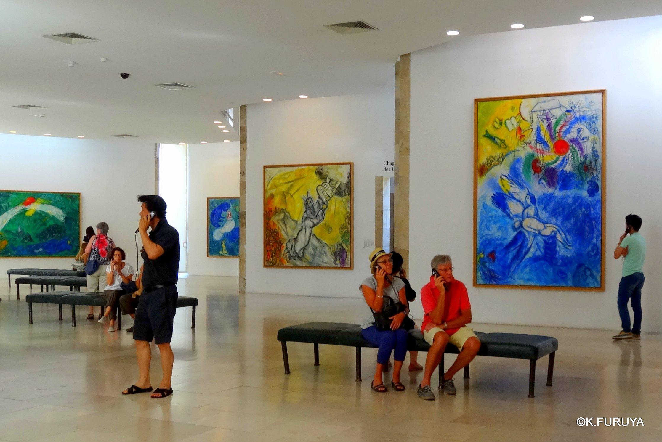 フランス周遊の旅 4  シャガール美術館_a0092659_15203487.jpg