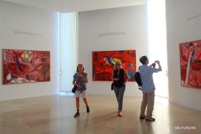 フランス周遊の旅 4  シャガール美術館_a0092659_167432.jpg