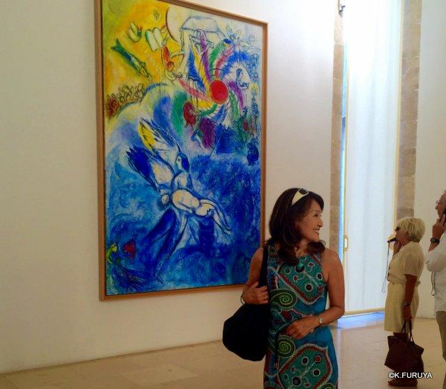 フランス周遊の旅 4  シャガール美術館_a0092659_20545150.jpg
