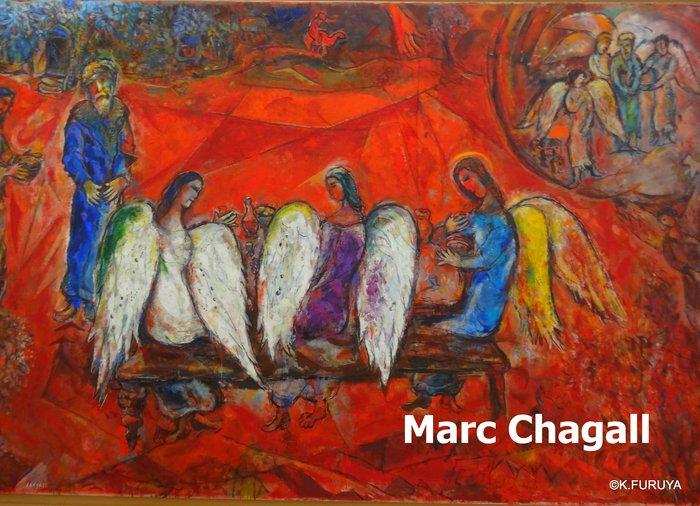 フランス周遊の旅 4  シャガール美術館_a0092659_2113284.jpg