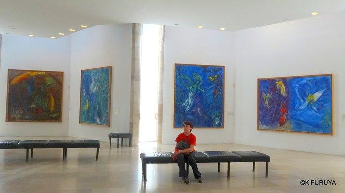 フランス周遊の旅 4  シャガール美術館_a0092659_21365081.jpg