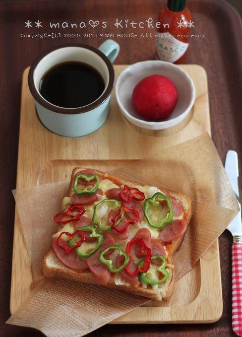 痛みのメカニズム ✿ Pizza-toast♪_c0139375_166415.jpg