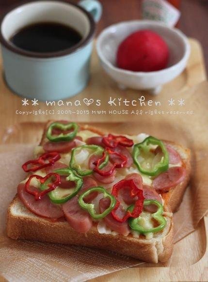 痛みのメカニズム ✿ Pizza-toast♪_c0139375_169469.jpg