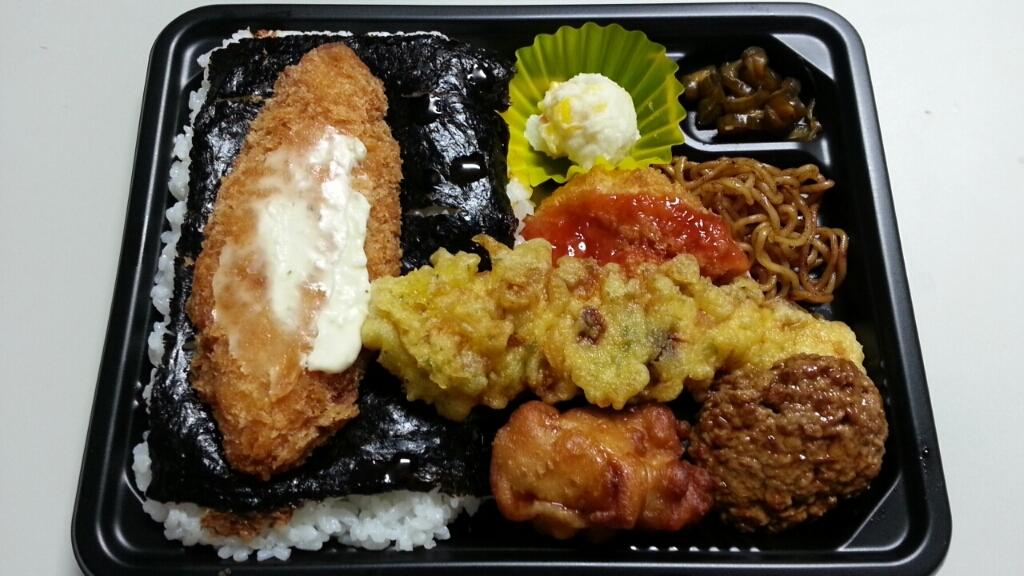 7/12夜食  のり弁L ¥450@サークルKサンクス_b0042308_01532369.jpg