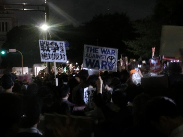 シールズ(SEALDs)の国会前集会に参加 「解釈改憲、絶対反対」_f0141310_727259.jpg