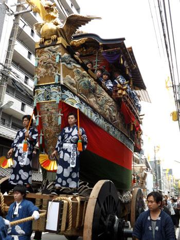 祇園祭 引き初め_e0048413_2391569.jpg