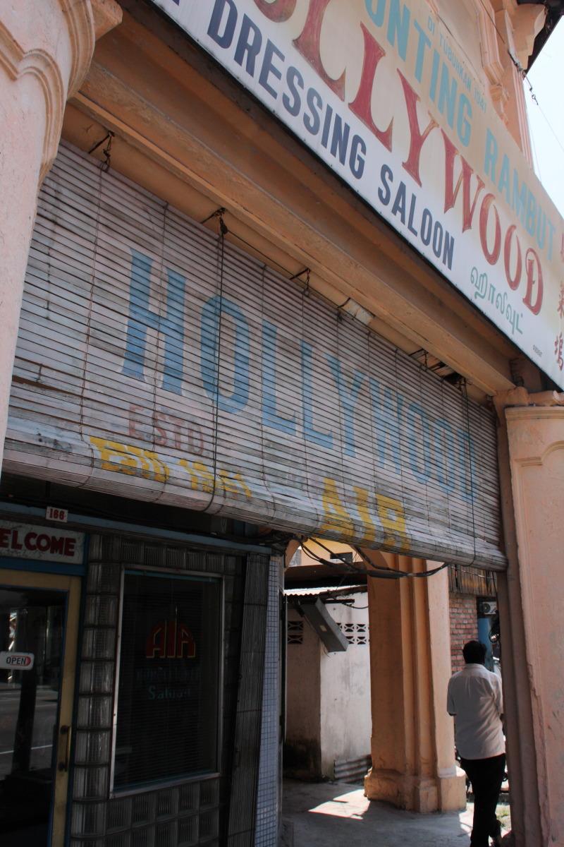 イポー  インド人床屋「ハリウッド」 since1940_b0061717_2395216.jpg