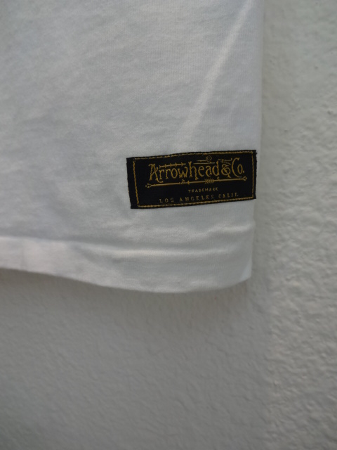 【Arrowhead&co. 】Crew Neck Pocket Tee_c0289919_18181040.jpg