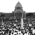 市民革命のパノラマ - 官邸の屋上から安倍晋三がヘリで脱出する日_c0315619_18203254.jpg