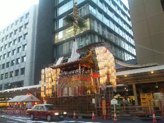 blog:京都の夕暮れ #祇園祭り_a0103940_2157515.jpg