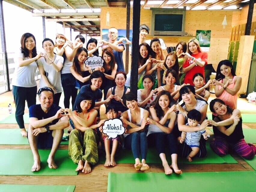 朝yoga@Hawaiian  Village_a0267845_21545737.jpg